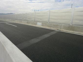 九州道 向佐野橋 (施工:平成22年11月)